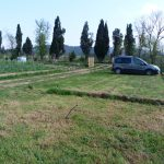 Parking de la Tiny ferme de Provence